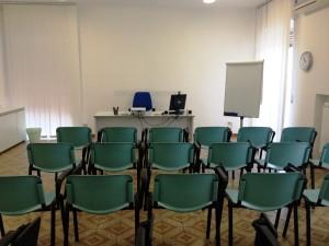 aula 25 posti - prospettiva 3